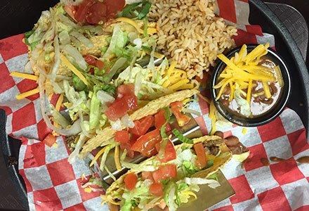 traditional corn shell tacos