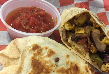 Gringo's Breakfast Burrito