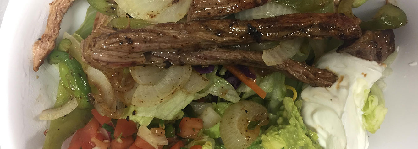 Gringo's Steak Fajita Salad